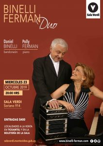 Binelli-Ferman Duo at Sala verdi